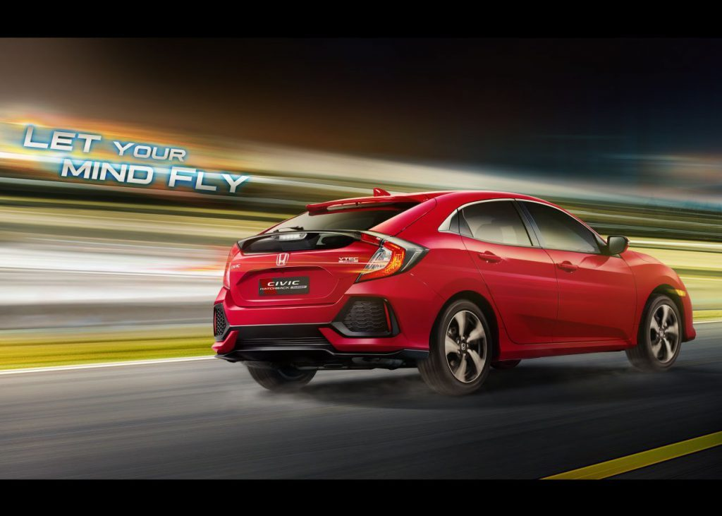 Honda Civic Hatchbak Turbo Promotional Image